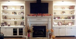 Entertainment Center Shelving