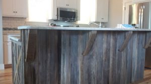 Rustic Kitchen Counter